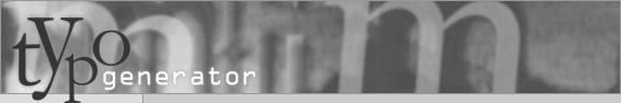 typogenerator